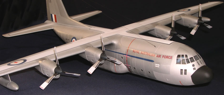 Lockeed C-130A Hercules Model
